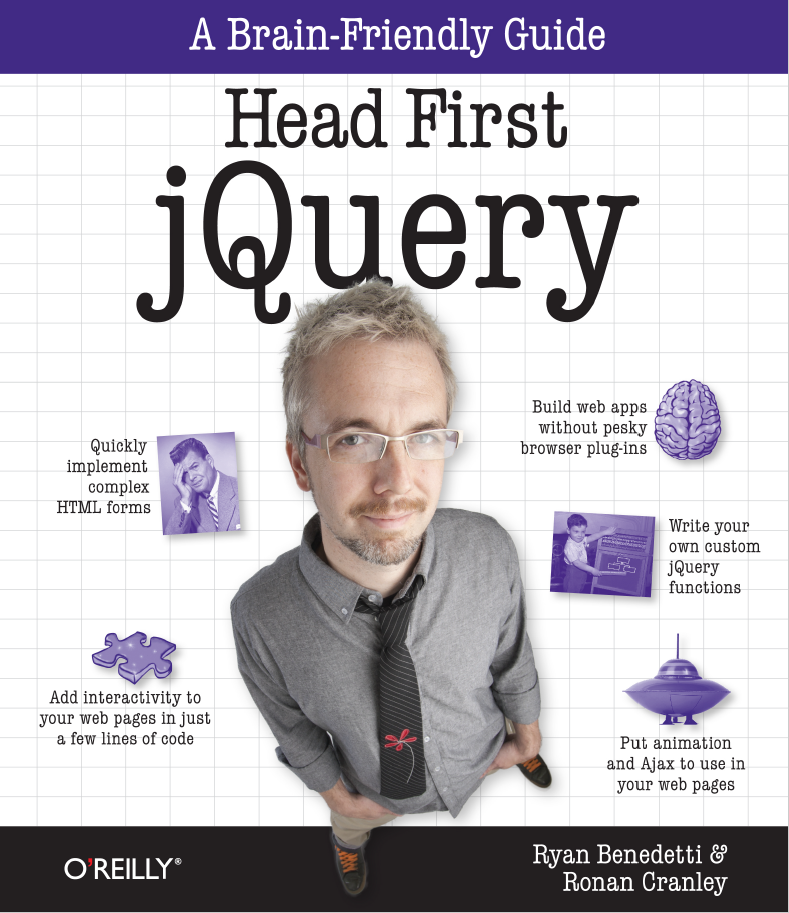 Head First JQuery: A Brain-Friendly Guide