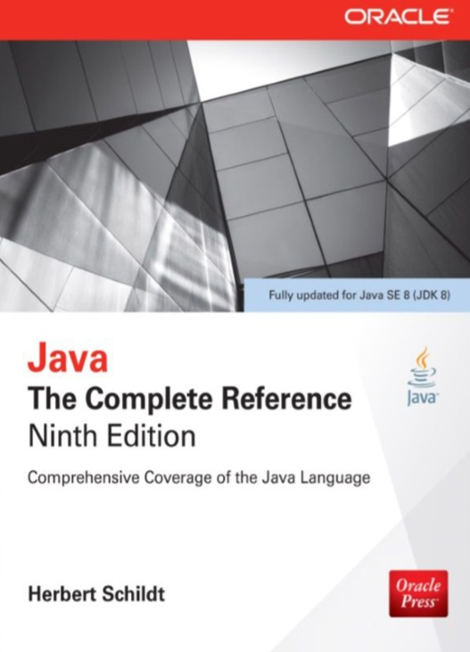 ORACLE Java Reference 9th edition