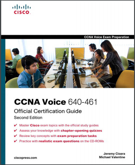 CCNA Voice 640-461 Official Certification Guide