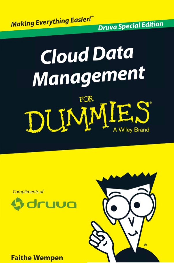 Cloud Data Management For Dummies