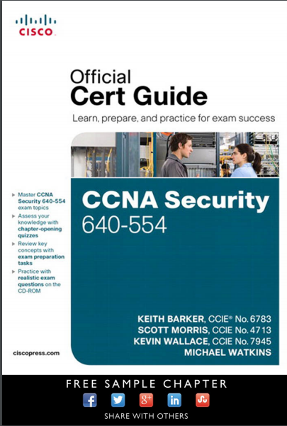 CCNA Security 640-554 Official Certification Guide